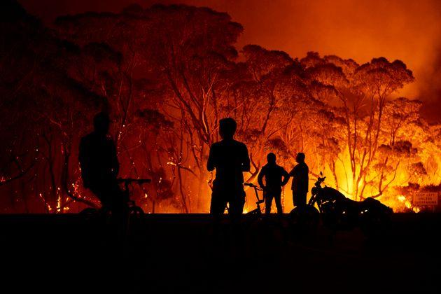 オーストラリア 山 火事 範囲