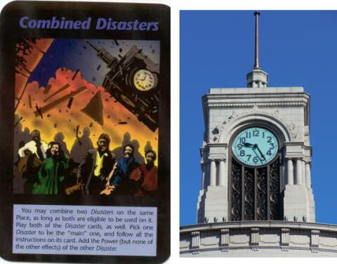 未来人 直下型地震 銀座和光時計台