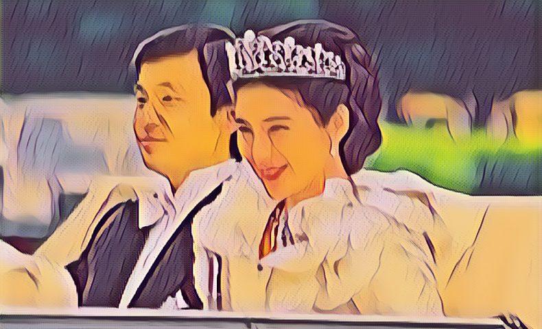 皇太子徳仁親王と小和田雅子の結婚の儀