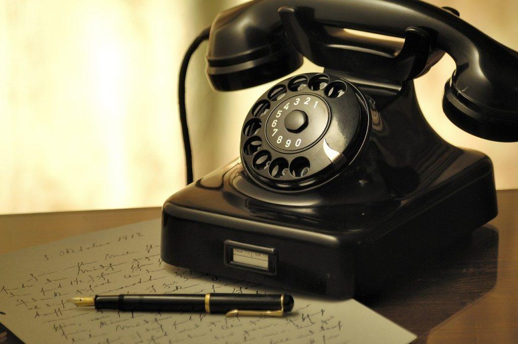 習い事 電話