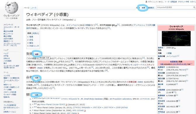 ウィキペディアの編集の仕方